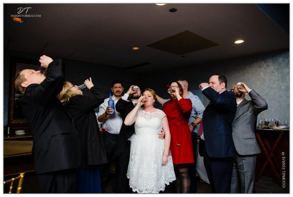 Town Point Club Wedding in Downtown Norfolk