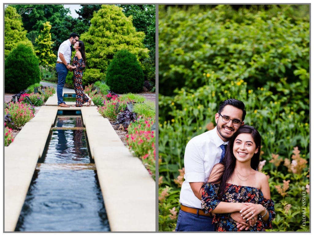 Norfolk Botanical Garden Surprise Proposal Fountain