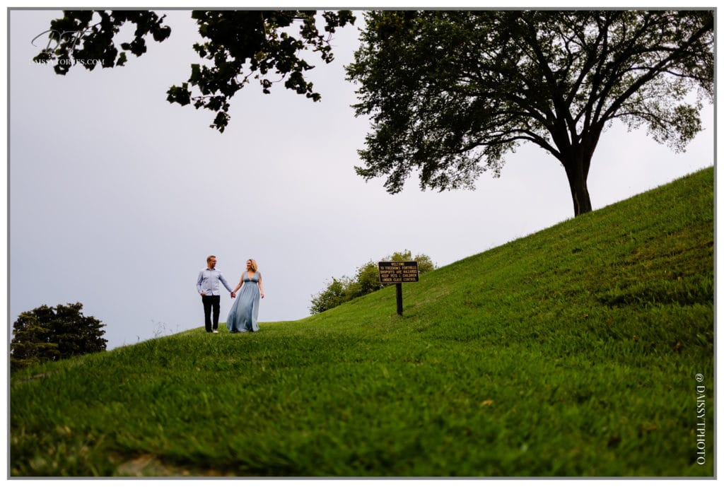 Fort Monroe Engagement Session