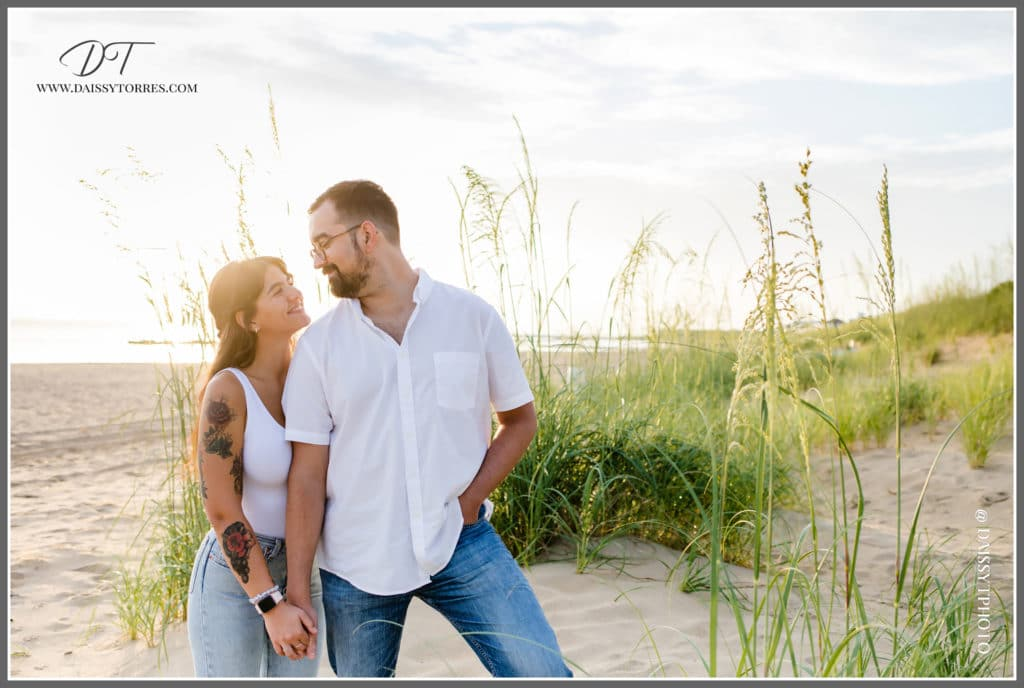 Norfolk, VA Beach Engagement Session