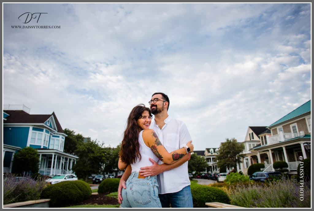 Norfolk, VA Beach Engagement Sunrise Session